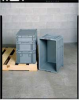 Distribution Container,Blue,15x5x24 -- 9PMG1