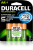 Duracell Rechargeable Batteries - Image