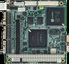 DM&P Vortex86DX-800MHz PC/104 SBC, LCD, Ethernet, CFC, Onboard Memory -- PCM-3343