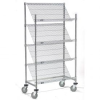 Slant Chrome Wire Shelving -- T9H504107