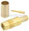MMCX Jack (Female) Connector For .100 inch, RG316, RG174, RG188, LMR-100, LMR-100A, LMR-100-FR Cable, Crimp/Solder -- SC9561 -Image