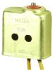 XE Series Environmentally Sealed Basic Switch, Single Pole Normally Open Circuitry, 7 A at 115 Vac, Pin Plunger Actuator, Leadwire Termination -- 1XE203