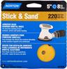 Norton Stick & Sand AO Fine Grit Paper PSA Vacuum Disc -- 7660701809 -Image