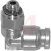 FITTING, STAINLESS STEEL, MALE ELBOW, FOR 5/32 IN TUBE, 10-32UNF PORT -- 70072104