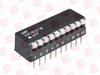 TYCO 435802-8 ( RIGHT ANGLE DIP SW 10 POS AU ) -Image