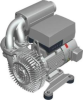 G-Series Side Channel Blowers in Vacuum Operation