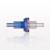 Check Valve, Blue Inlet, Clear Outlet -- 80130 -Image
