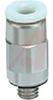 Fitting, mini hex socket head male, 10-32UNF thread, for 5/32 OD tube -- 70071908 - Image