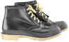 Onguard 86304 Black/Tan 10 Chemical-Resistant Boots - 6 in Height - Steel Toe Cap - 791079-10831 -- 791079-10831 - Image