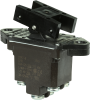 TP Series Rocker Switch, 2 pole, 2 position, Screw terminal, Above Panel Mounting -- 2TP7-8 -Image