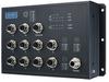 EN 50155 10-port Managed PoE M12 Ethernet Switch 72/96/110 VDC -- EKI-9510E-2GMPH