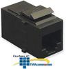 ICC CAT 6 Modular Coupler -- IC107CP6BK