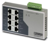 Industrial Ethernet Switch Unmanaged 8 RJ45 10/100Base TX -- 78037396674-1