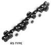 Outboard Roller Chain Series RS Type without Brake -- RS50SS 2L SRE-H-CP -Image
