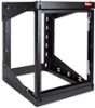 Swing Out Rack 25U 24in Blk -- E19SWM25U24