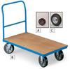 EUROKRAFT Premium Wood-Deck Platform Trucks -- 7039303