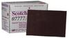 3M Scotch-Brite 07777 Non-Woven Silicon Carbide Scuff Hand Pad - 6 in Width x 9 in Length -- 051131-07777 - Image
