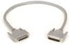 10-ft RS232 Double Shielded Cable Molded Hood DB25 Male/Female -- EGM25C-0010-MF - Image