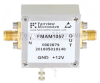 1 dB NF Low Noise Amplifier, Operating from 20 MHz to 1.5 GHz with 20 dB Gain, 17 dBm P1dB and SMA -- FMAM1057 -Image