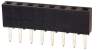 Rectangular Connectors - Headers, Receptacles, Female Sockets -- 2063S-08-ND -Image