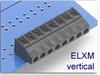 Fixed Terminal Block -- ELXM Vertical SMT Compatible Series