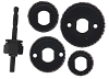5 PC Hole Saw Set -- 73416 - Image