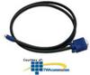 Hubbell VGA Plug-n-Play 15-Pin Male to 8-Pin Male, Plenum.. -- VGA15MP605BK