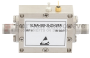 2.5 dB NF, 6 GHz to 18 GHz, Low Noise Broadband Amplifier with 22 dBm, 38 dB Gain, 30 dBm IP3 and SMA -- SLNA-180-38-25-SMA -Image