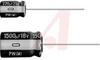CAPACITOR ALUMINUM ELECTROLYTIC CAP 1000UF 6.3V 20% RADIAL 10X12.5 LS 5 MM -- 70187352
