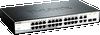 28-Port Fast Ethernet WebSmart Switch, including 2 Gigabit BASE-T and 2 Gigabit Combo BASE-T/SFP -- DES-1210-28
