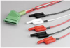 Banana Jack Interface Cable -- Keithley 2600-BAN