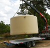 Aboveground Commercial Vertical Fiberglass Water Tank -- 12' Diameter