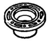 ABS DWV Flanges -- 603159