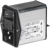 IEC Appliance Inlet C14 with Filter, Fuseholder 1- or 2-pole, Line Switch 2-pole -- DD12 - Image