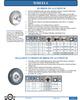 Balloon Cushion Rubber on Aluminum Wheel -- W-6-GRND-6600 - Image