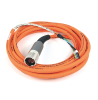 MP-Series 5m Length Power Cable -- 2090-CPWM7DF-16AF05 -- View Larger Image