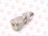 SWAGELOK SS-400-1-4 ( SS SWAGELOK TUBE FITTING, MALE CONNECTOR, 1/4 IN. TUBE OD X 1/4 IN. MALE NPT ) -- View Larger Image