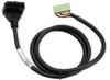 CABLE 10-TERM/24-PIN 2m (6.6ft) ZIPLINK FOR DL05/DL06 -- ZL-D0-CBL10-2 - Image