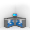 Technician Workcenter (Corner) -- RS-C006X -Image