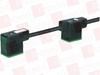 MURR ELEKTRONIK 7000-58221-6170300 ( MSUD DOUBLE VALVE PLUG FORM B 10 MM, PVC 4X0.75 BLACK 3M ) -Image