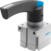 Hand lever valve -- VHER-P-H-B43U-B-M5 -Image