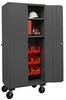 16 Gauge, Mobile Cabinets -- H2501M-BLP-12-2S-5295 -Image