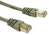 Cat6 Patch Cable Shielded Gray - 25Ft -- HAV31219