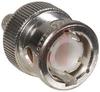 Connector, Crimp;50 Ohms;Straight;Coaxial;BNC;Gold;Plug;Brass;Teflon;Silver -- 70083217 - Image