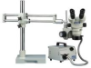 LUXO 23711RB ( ILLUMINATED BINOCULAR MICROSCOPE; WORKING DISTANCE:203MM; FEATURES:FLEXIBILITY & ADJUSTABILITY TO ALTER ANGLES UP TO 45DEG.; HEAD ROTATES 560DEG. IN F ) -Image