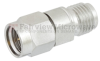 2.92mm Male (Plug) to 2.4mm Female (Jack) Adapter, Passivated Stainless Steel Body, High Temp, 1.25 VSWR -- FMAD1028 - Image