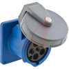 D-Sub Receptacle; Receptacle; 4 Pole, 5Wire; High-Impact Thermoset; Screw -- 70116175
