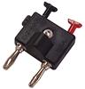 Terminal Clip on Standard Double Banana Plug -- 8103-Image