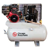 Chicago Pneumatic Stationary Air Compressor -- Two Stage Gas Driven Compressors