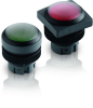 Pushbuttons with Protective Cap -- RAFIX 22 QR
